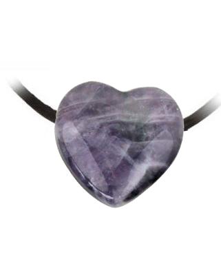 Hangertje Amethist hart