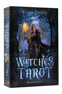 Witches Tarot Engesle tarotkaartenset