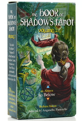 THE BOOK OF SHADOWS TAROT VOL. 2 ENGELSE TAROTKAARTENSET