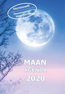Maan Agenda in ringband 2020 Leven in harmonie met de maan
