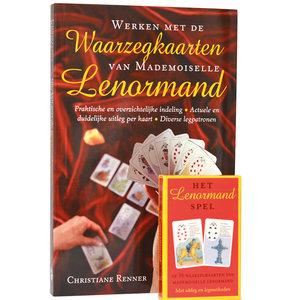 Boek en kaarten: Werken met de waarzegkaarten van Mademoiselle Lenormand