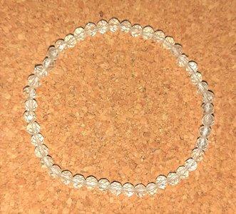 Gefacetteerde armband Bergkristal